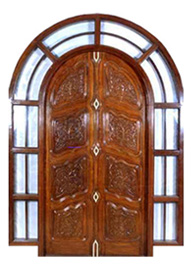 Main Entrance Carved Door
