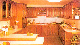 Complete Wood Modular Kitchen